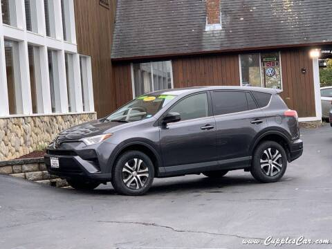 2018 Toyota RAV4 for sale at Cupples Car Company in Belmont NH