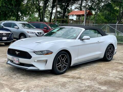 2019 Ford Mustang for sale at USA Car Sales in Houston TX