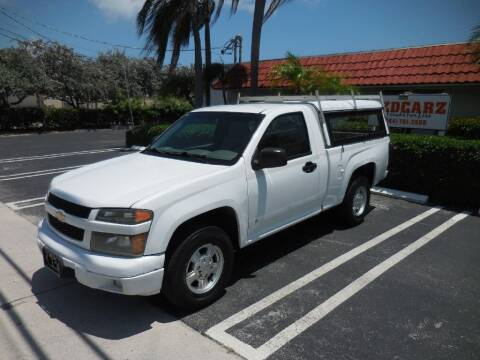 2007 Chevrolet Colorado for sale at Uzdcarz Inc. in Pompano Beach FL