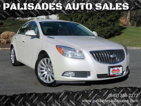 2012 Buick Regal for sale at PALISADES AUTO SALES in Nyack NY