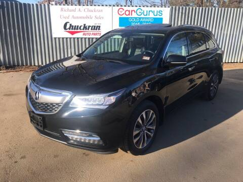 2015 Acura MDX for sale at Chuckran Auto Parts Inc in Bridgewater MA
