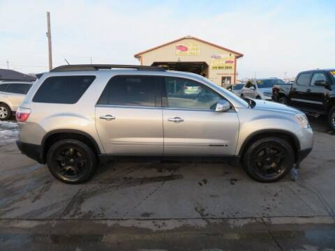 2007 GMC Acadia for sale at Jefferson St Motors in Waterloo IA