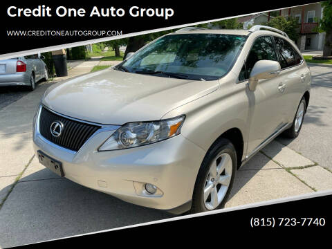 2011 Lexus RX 350 for sale at Credit One Auto Group in Joliet IL