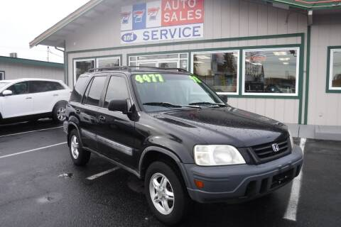 1998 Honda CR-V for sale at 777 Auto Sales and Service in Tacoma WA