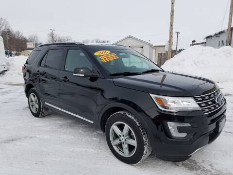 2016 Ford Explorer for sale at CENTER AVENUE AUTO SALES in Brodhead WI