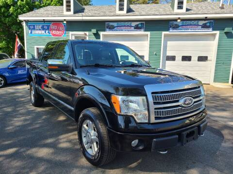 2010 Ford F-150 for sale at Bridge Auto Group Corp in Salem MA