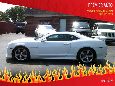 2012 Chevrolet Camaro for sale at Premier Auto in Independence MO