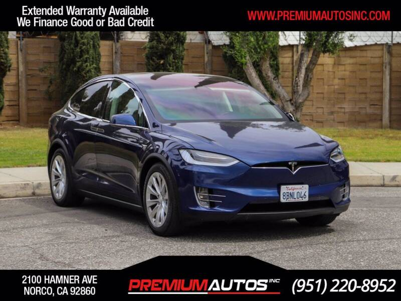 2017 Tesla Model X for sale in Norco, CA