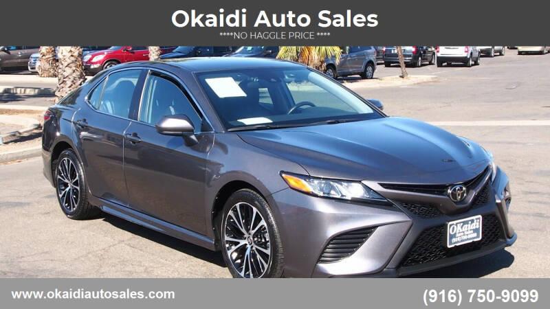 2020 Toyota Camry for sale at Okaidi Auto Sales in Sacramento CA