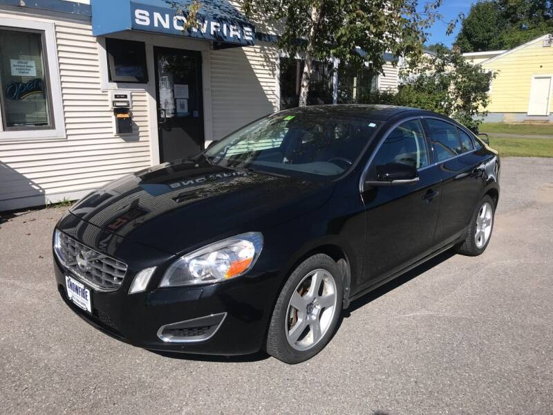 2013 Volvo S60 for sale at Snowfire Auto in Waterbury VT