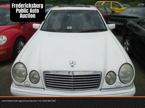 1999 Mercedes-Benz E-Class for sale at FPAA in Fredericksburg VA