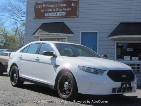 2013 Ford Taurus for sale at High Performance Motors in Nokesville VA