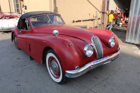1956 Jaguar XK140 for sale at Gullwing Motor Cars Inc in Astoria NY