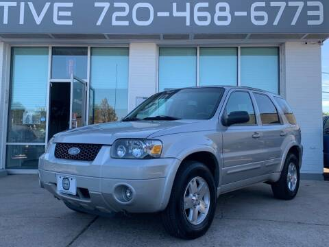 2006 Ford Escape for sale at Shift Automotive in Denver CO
