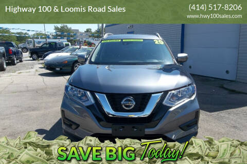 2020 Nissan Rogue for sale at Highway 100 & Loomis Road Sales in Franklin WI