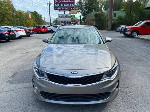 2018 Kia Optima for sale at J Franklin Auto Sales in Macon GA
