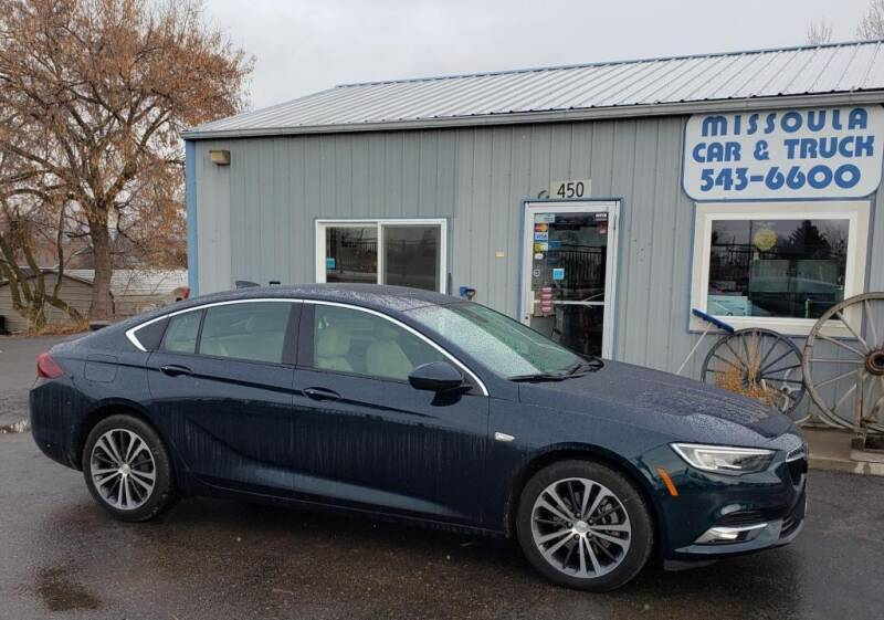 2018 Buick Regal Sportback for sale in Missoula, MT