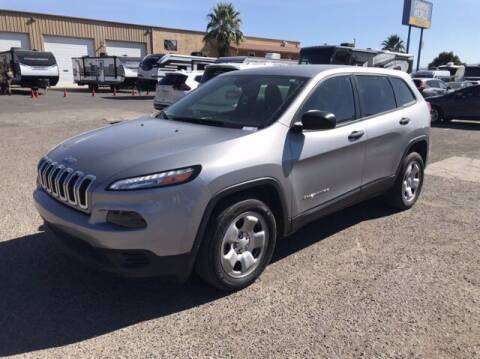 2017 Jeep Cherokee for sale at Stephen Wade Pre-Owned Supercenter in Saint George UT