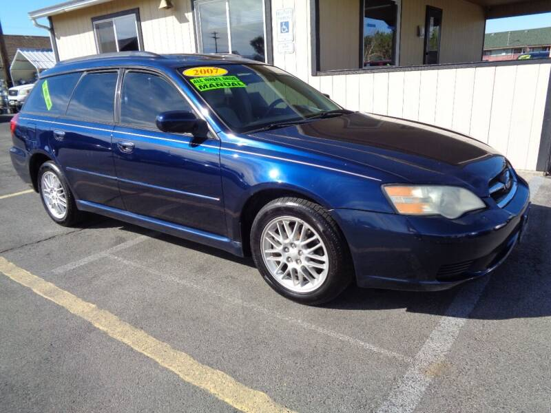 2007 Subaru Legacy for sale at BBL Auto Sales in Yakima WA