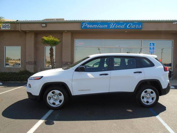 2015 Jeep Cherokee for sale at Family Auto Sales in Victorville CA