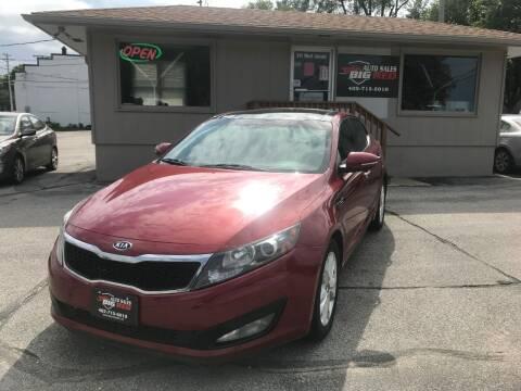 2011 Kia Optima for sale at Big Red Auto Sales in Papillion NE