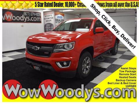 2016 Chevrolet Colorado for sale at WOODY'S AUTOMOTIVE GROUP in Chillicothe MO