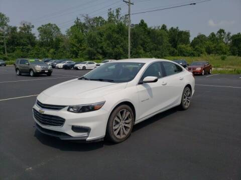 2017 Chevrolet Malibu for sale at White's Honda Toyota of Lima in Lima OH