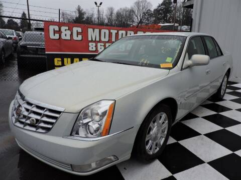 2010 Cadillac DTS for sale at C & C Motor Co. in Knoxville TN