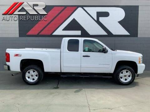 2011 Chevrolet Silverado 1500 for sale at Auto Republic Fullerton in Fullerton CA