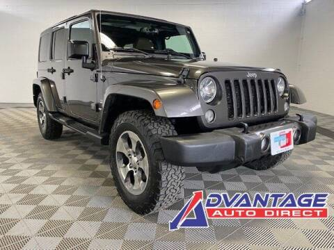 2016 Jeep Wrangler Unlimited for sale at Advantage Auto Direct in Kent WA