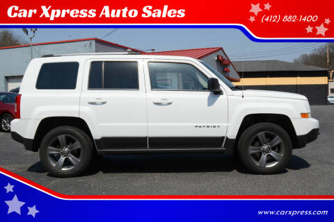 2016 Jeep Patriot for sale at Car Xpress Auto Sales in Pittsburgh PA