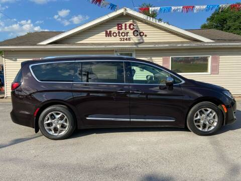 2017 Chrysler Pacifica for sale at Bic Motors in Jackson MO