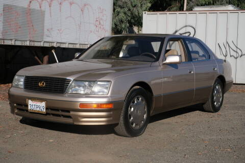 1996 Lexus LS 400 for sale at Sports Plus Motor Group LLC in Sunnyvale CA