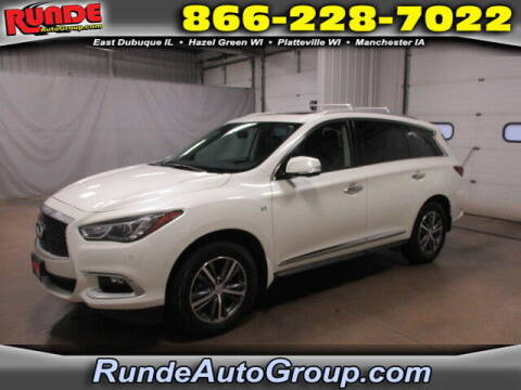 2018 Infiniti QX60 for sale at Runde Chevrolet in East Dubuque IL
