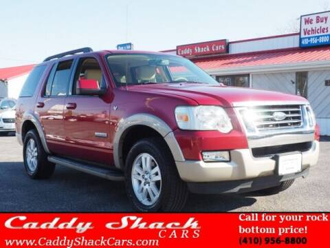 2008 Ford Explorer for sale at CADDY SHACK CARS in Edgewater MD