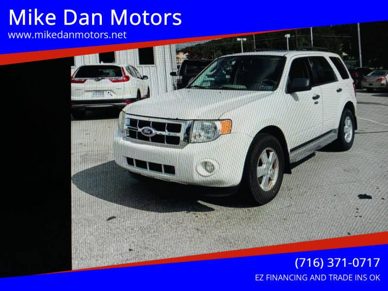 2010 Ford Escape for sale at Mike Dan Motors in Niagara Falls NY