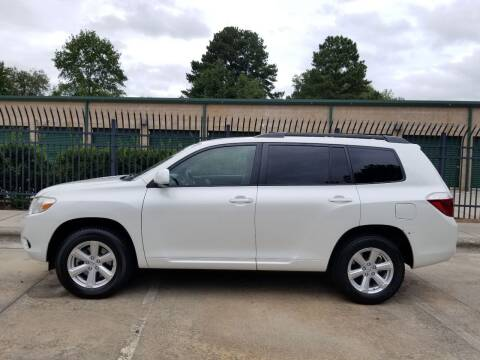 2009 Toyota Highlander for sale at Hollingsworth Auto Sales in Wake Forest NC