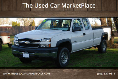2007 Chevrolet Silverado 2500HD Classic for sale at The Used Car MarketPlace in Newberg OR