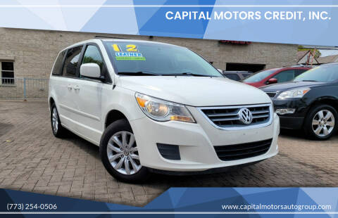 2012 Volkswagen Routan for sale at Capital Motors Credit, Inc. in Chicago IL