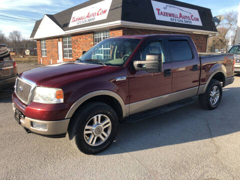 2005 Ford F-150 for sale at tazewellauto.com in Tazewell TN