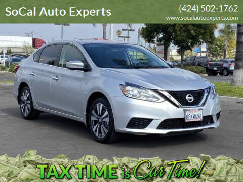 2019 Nissan Sentra for sale at SoCal Auto Experts in Culver City CA