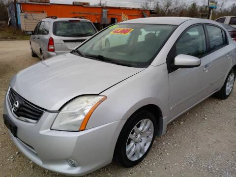 2012 Nissan Sentra for sale at Finish Line Auto LLC in Luling LA