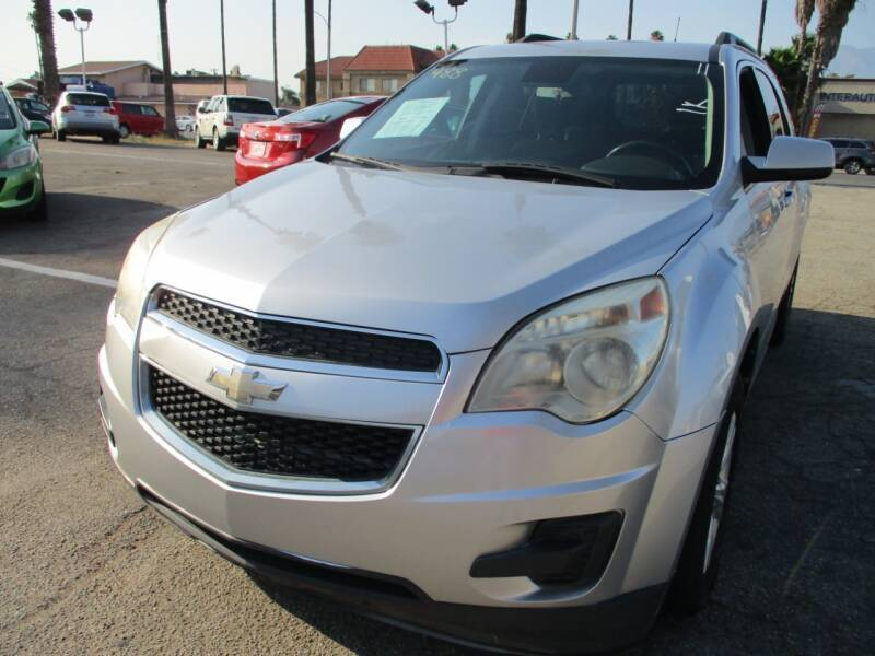 2012 Chevrolet Equinox for sale at F & A Car Sales Inc in Ontario CA