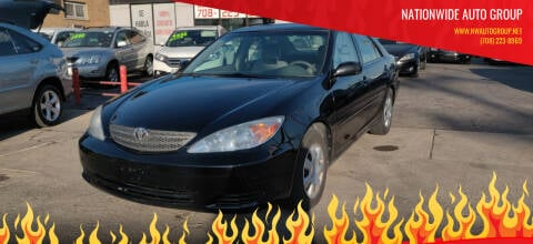 2002 Toyota Camry for sale at Nationwide Auto Group in Melrose Park IL
