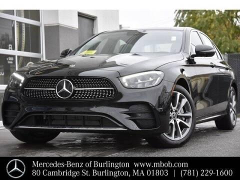 2021 Mercedes-Benz E-Class for sale at Mercedes Benz of Burlington in Burlington MA