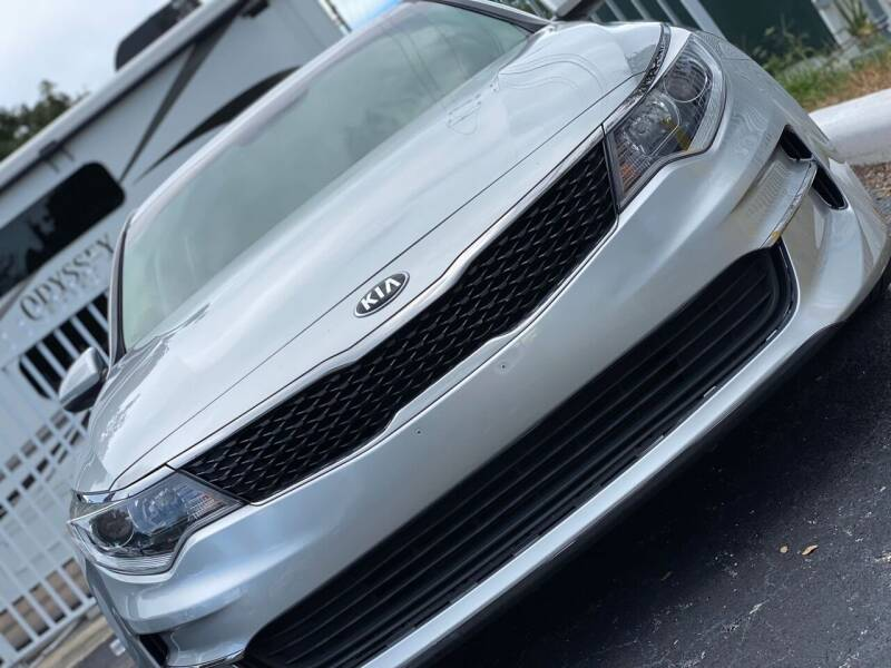 2017 Kia Optima for sale at HIGH PERFORMANCE MOTORS in Hollywood FL