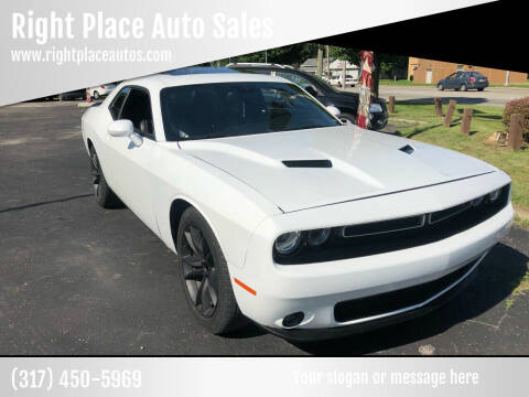 2016 Dodge Challenger for sale at Right Place Auto Sales in Indianapolis IN