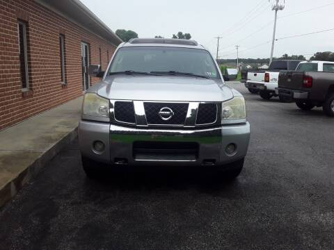 2007 Nissan Armada for sale at Dun Rite Car Sales in Downingtown PA