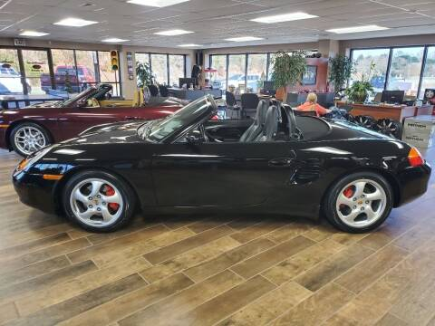 2002 Porsche Boxster for sale at AutoWorld of Lenoir in Lenoir NC