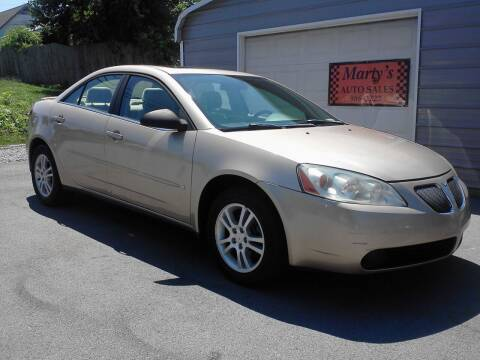 2006 Pontiac G6 for sale at Marty's Auto Sales in Lenoir City TN
